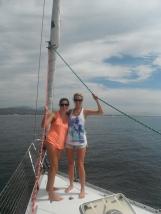 Sailing into Banderas Bay