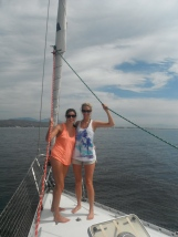 Sailing into Banderas Bay