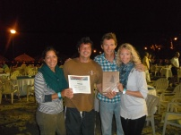 Moondance's awards - First in H class and best in parade