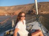 Em taking in the scenery