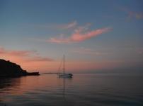 Another sailboat at anchor in Los Gatos