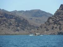 Fishing boat near Nopolo