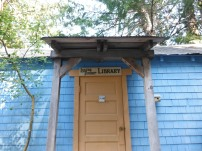 Adorable library in Whaletown Bay