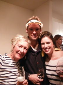 Sailor Party 7 - Karen with Ben & Katy (Pacific Crossing Crew!)