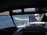 Boarded by Mexican Navy at Caleta Lobos.