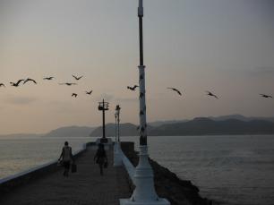 The pier in Barra