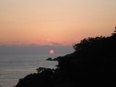 Sunset from Casa que ve al mar