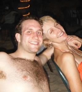 Peter and mum