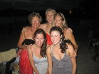 All the girls (Karen, Maroulla, Sarah, Emily and Katy)
