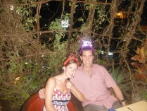 Emily and Scott at Bandito's