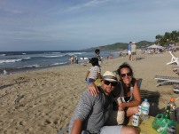 The beach at Sayulita