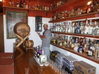 Tequila Bar. The one in the cabinet is 2000 pesos a shot