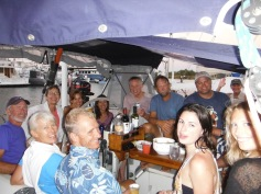 15 people on our boat last night