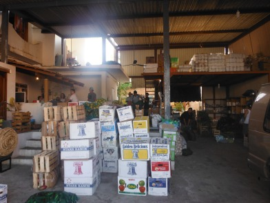 The best produce store in La Cruz - we did a big haul two days ago.