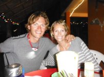 Mita'z pizza in Punta Mita - night before we left