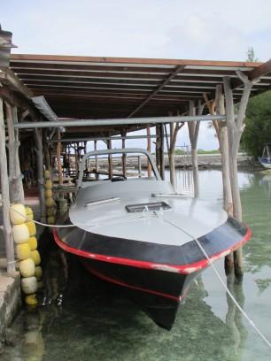 Mahini's boat