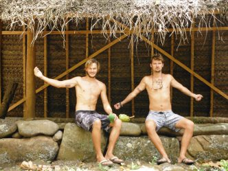 These boys are practically Marquesan now