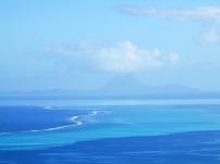 Oh ya! BORA BORA with Tahaa's reef in the foreground.