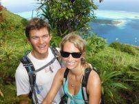 Climbing Bora Bora - July 2013
