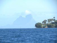 Bora Bora in distance