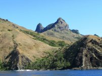 Gorgeous Waya... reminds us of the Marquesas but drier