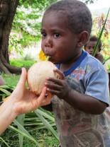 Jeffrey likes coconut water