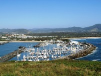 Coffs Harbour Marina (recently detroyed in storm)