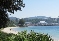 Beach at Nelson Bay