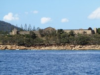 Prison on shore at Trial Bay