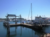 Hydroquest at the free jetty in Nelson Bay