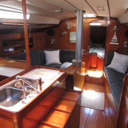 Hydroquest's spotless interior - photo January 2014