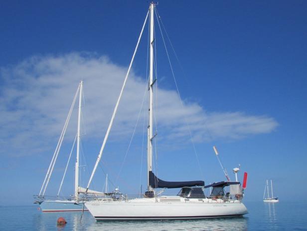 Hydroquest on Mooring at Molololailai, Fiji