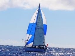 Hydroquest sailing between Niue and Tonga