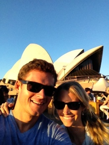 Sydney must have - Opera House selfie