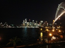Last night in Oz - picnic in Kirribilli