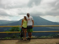 Mt Batur... cool, but not as cool as Mt Yasur!