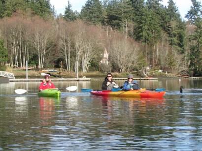 Kayaking in Port Madison