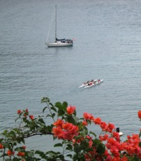 37 Hydroquest and the outrigger canoe