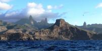 Ou Pou sailing from Nuku Hiva short