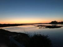 Sunset over the Slough - Moss Landing