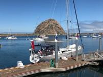 Morro Rock, Morro Bay, Morro Bay YC dock